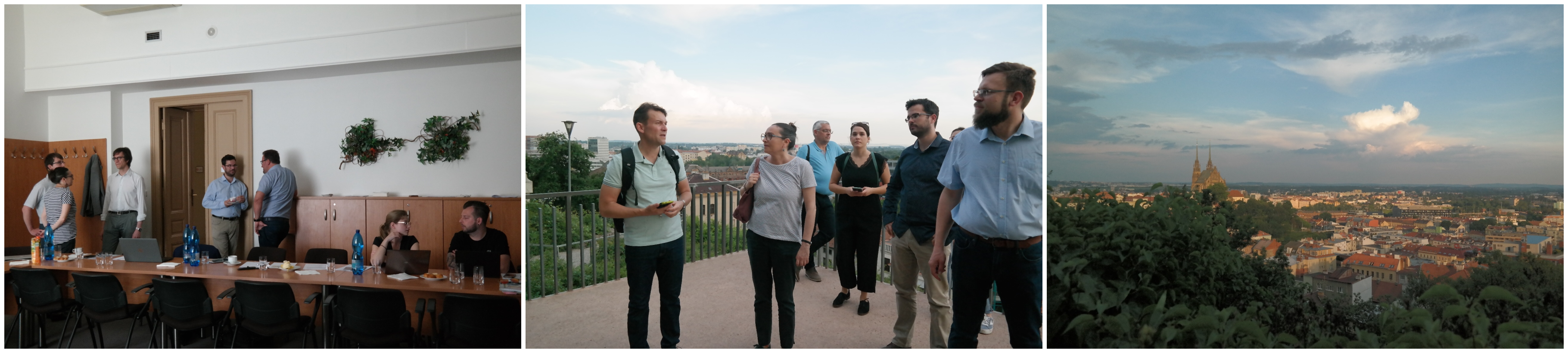 4th partner meeting and guided tour through Brno
