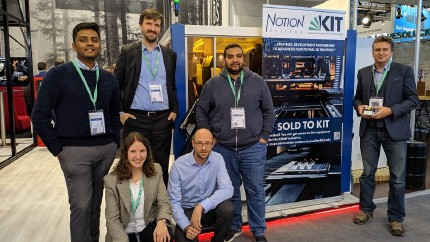 KIT SYNERGY Project Team at Formnext 2019