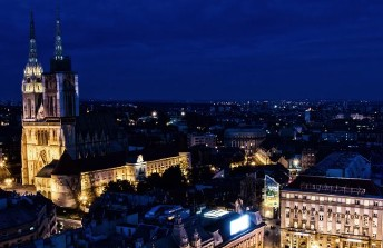 Zagreb by night