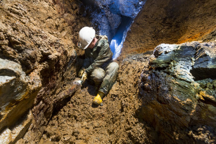 Rescue excavation in medieval mines (Photo:  Archaeological Heritage Office of Saxony/M. Jehnichen)