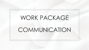 Work Package Communication